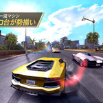 60種類以上の車種が登場する高速レースゲーム『アスファルト 7: Heat』配信スタート