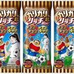 3頭身との12頭身のシュールな出会い ― ガリガリ君が日本女子サッカー応援キャラとコラボ