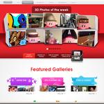 米国任天堂、3D写真を投稿できる「NINTENDO 3DS PHOTO SHOWCASE」開設