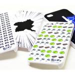 人気アプリ『ぐんまのやぼう』デザインのiPhone 4S・4用ケース