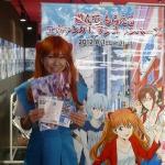 稲垣早希さんが来店1号!「遊んで、もらえるヱヴァンゲリヲンキャンペーン」を実際に体験