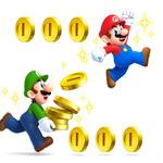 『New スーパーマリオブラザーズ2』早くもコイン100億枚突破 ― 100万枚達成は242人も