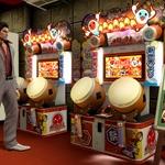 『龍が如く5』と『太鼓の達人』がコラボ ― 神室町でプレイ可能
