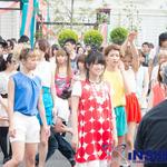 『初音ミク -Project DIVA- f』藤田咲さんと150人がkz×八王子Pコラボ新曲で迫力のダンス!