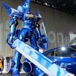 【夏休み】『超速変形ジャイロゼッター』横浜・日産本社に「GT-R ロボ」展示