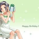 8月17日はリンコの誕生日だよ