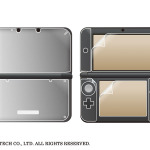 3DS LL用「内側用」「外側用」保護シート、液晶用シートも付属「コンプリートセット」発売