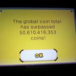 『New スーパーマリオブラザーズ2』グローバルでコイン500億枚突破