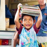 使わなくなったゲームがアジアの子どもたちの教育支援に「リサイクル・ブック・エイド」