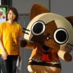 【TGS 2012】『アイルーでパズルー』鈴木Pとアイルーがファミリーコーナーにやってきた!