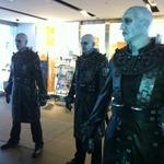 映画「biohazard DAMNATION」公開直前、新宿にタイラントが降臨
