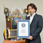 『クイズマジックアカデミー 賢者の扉』ギネス記録認定 ― 世界で一番問題数が多いトリビアゲーム