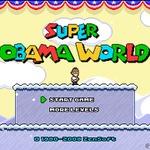 大統領再選を果たしたオバマ大統領を主人公にした『スーパーマリオワールド』風なゲームに注目
