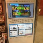 Wii Uの映像スタンドがゲームショップに登場