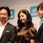【フォトレポート】吉高由里子さんの本領発揮!? 無料通話アプリ「comm」スタート発表会