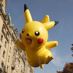 ピカチュウ、ニューヨークの空を飛ぶ ― 感謝祭の恒例行事、今年も開催