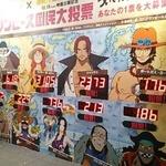 「ついて行きたい船長」渋谷ではルフィがNo.1、シャンクスやエースも人気