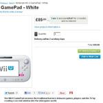 Wii U GamePad、英国の通販サイトでなぜか単体販売開始
