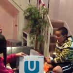 クリスマスプレゼントにWii Uをもらったら・・・?少年の意外な行動が話題に