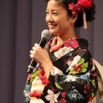 【フォトレポート】吉高由里子さんの着物姿がまぶしかった、ディー・エヌ・エー新ロゴ発表会