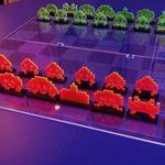 スペースインベーダー型チェスセット、製品化にKickstarterで出資者募集