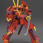 『電脳戦機バーチャロン フォース』甲冑姿のバーチャロイド「景清[火]」完全新金型でキット化