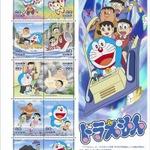 「ドラえもん」が切手に、郵便窓口で6月4日発売