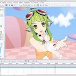 ボーカロイド「GUMI」がCLIP STUDIO ACTION最新版に ― 3Dアニメーションを手軽に制作可能