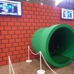 【ニコニコ超会議2】幕張メッセに出現した「みどりの土管」をくぐってみた