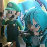 【ニコニコ超会議2】マリオの弟、電子の歌姫とまさかの「夢の共演」