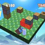 3DS新作『コロケス』、サイコロを「押す・引く・回す」で消していくアクションパズル