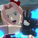 『NARUTO-ナルト- 疾風伝 ナルティメットストーム3』キティちゃんとコラボ!キティ耳のサクラが可愛いすぎる
