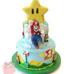 これは羨ましすぎる!任天堂が人気司会者にマリオケーキをプレゼント