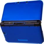 装着したまま充電台が使える3DS LL用超薄型ケースに「クリアブルー」と「クリアピンク」が登場