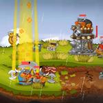 3DS新作『SWORDS & SOLDIERS 3D』配信決定 ― コミカルなキャラの本格的リアルタイムストラテジー