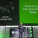 【E3 2013】Xbox Oneは2013年11月ローンチ、本体価格は北米で499ドル