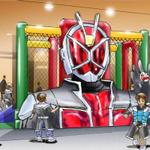 ナムコランド「仮面ライダーアクションスタジアム」が大阪、広島に6月21日オープン