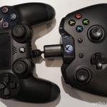 次世代機Xbox OneとPS4のコントローラーサイズを比較、海外ユーザーも話題に