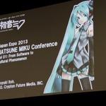 【ジャパンエキスポ2013】初音ミクの英語版「HATSUNE MIKU ENGLISH」が初公開、藤田咲さんがボーカルで今夏発売