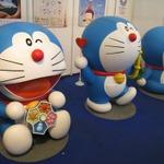 【ジャパンエキスポ2013】ジャパンエキスポだよドラえもん!藤子プロブースに等身大ドラえもんが3体出現