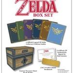『ゼルダの伝説』攻略本6冊と宝箱ブックホルダーがセットになった限定ボックスセットが海外で発売