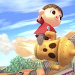 『大乱闘スマッシュブラザーズ for 3DS/Wii U』はにわに乗って復帰?「むらびと」の新たなアクション