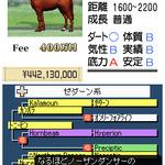 18頭での対戦レースに挑戦『ダービースタリオンDS』本日発売