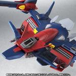 支援戦闘機「Gファルコン」がROBOT魂に登場、ガンダムダブルエックスとの合体を完全再現