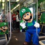 ルイージがシカゴの街を走る電車をジャック!Wii U『New スーパールイージU』発売記念で