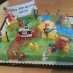 誕生日にこんなケーキはいかが?手作りの『ピクミン3』ケーキが羨ましすぎる出来
