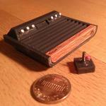 3Dプリンターで作るミニチュアレトロゲームハード