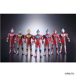 「ウルトラマンギンガ」の7つの技を表したソフビ人形7体セットが商品化