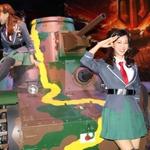 【東京ゲームショウ2013】実物大戦車も登場!「World of Tanks×ガールズ&パンツァー」コラボ宣言記者会見