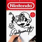 「Official Nintendo Magazine」のために描いた宮本氏直筆のイラストが公開 ― 100号記念の表紙に